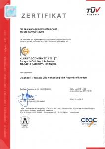 Tüv  Austria Zertifikat